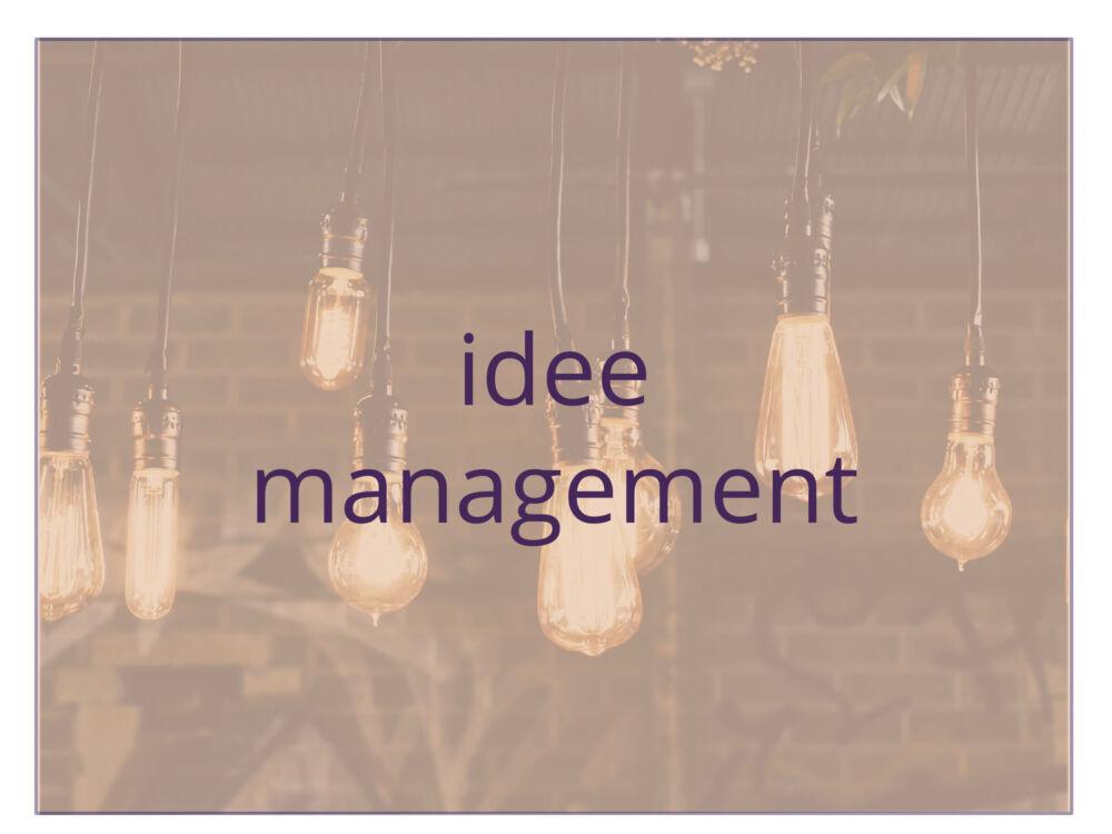 opleiding idee management