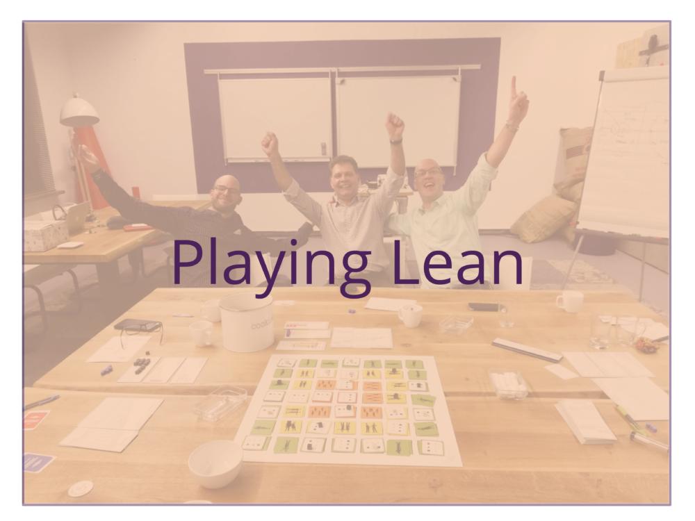 Playing Lean
