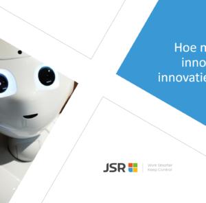 webinar hoe manage je innovatie